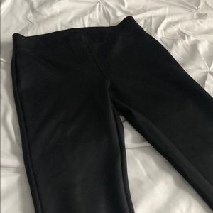 Express pleather leggings